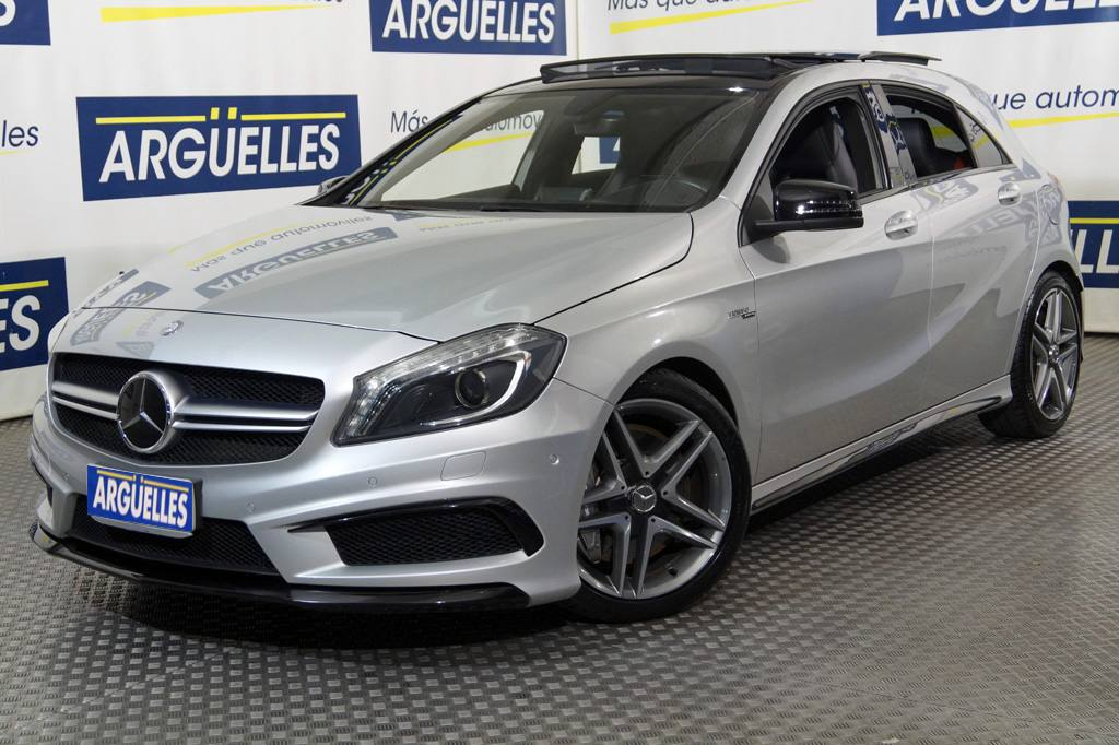 Mercedes Benz A 45 AMG 4Matic 360cv PACK AMG NIGHTde ocasión en Madrid
