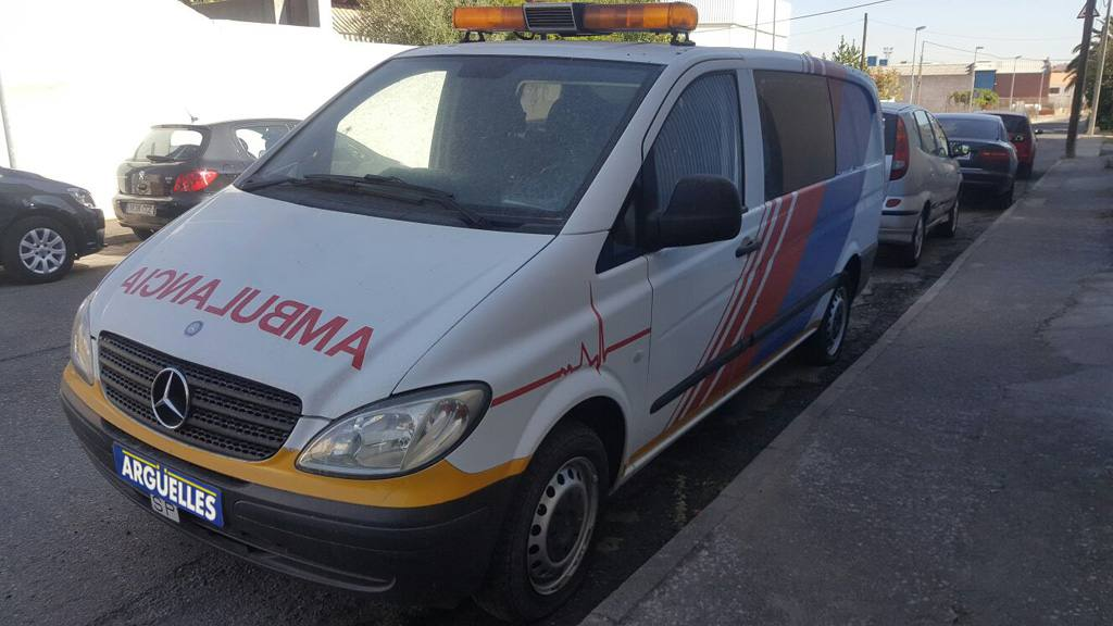 Mercedes Benz Vito 111 CDI AMBULANCIA