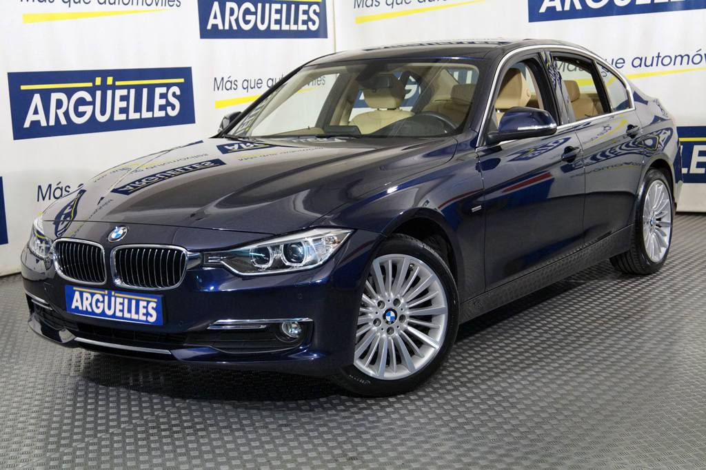 BMW 320d Aut Luxury +14.000e extrasde ocasión en Madrid