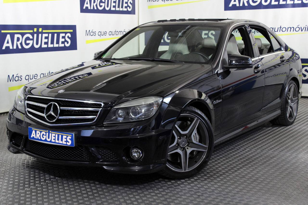 Mercedes Benz C 63 AMG 457cv Nacional IMPECABLE