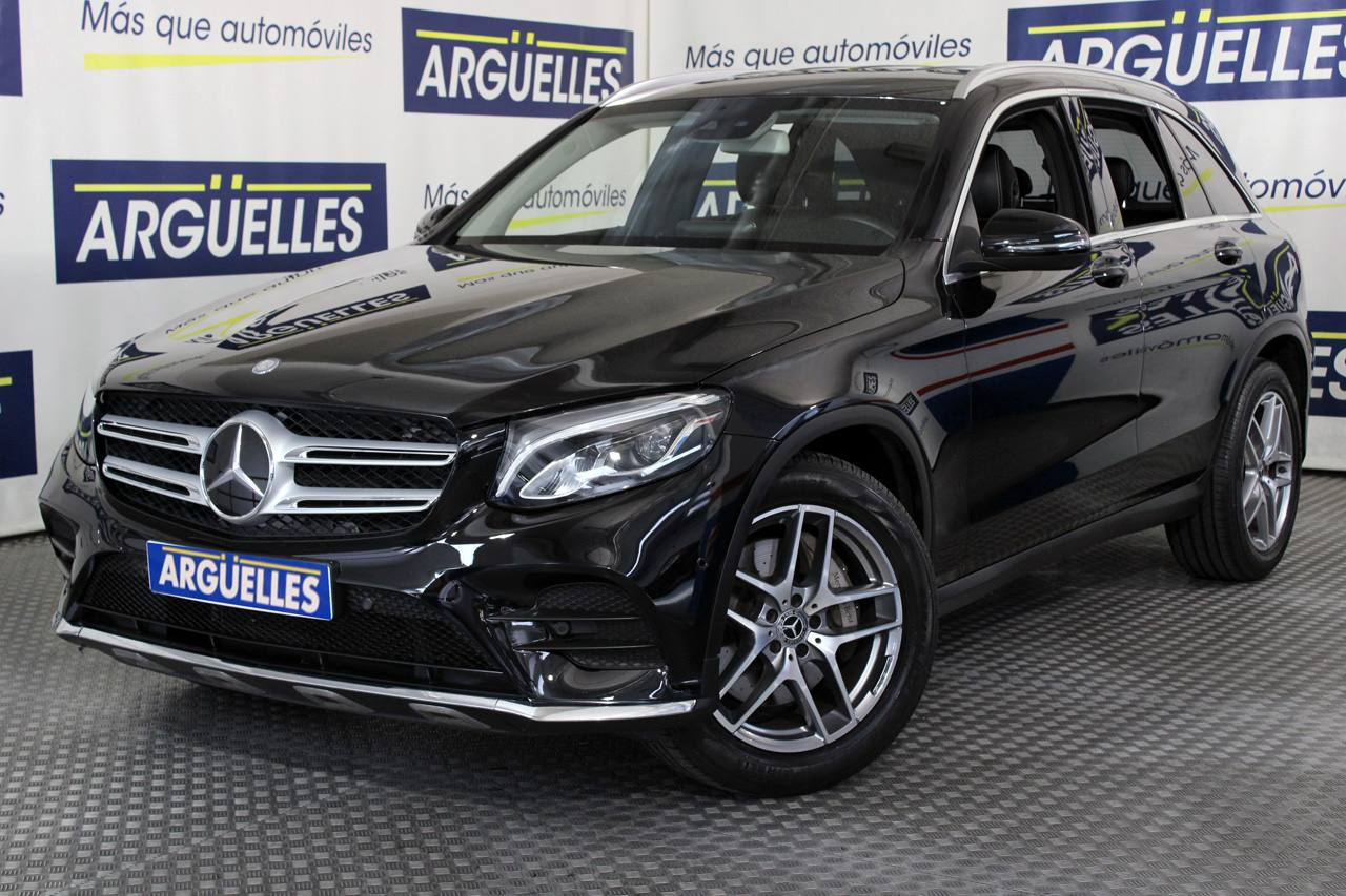 Mercedes Benz GLC 220d 4MATIC AMG Cuero Bicolor