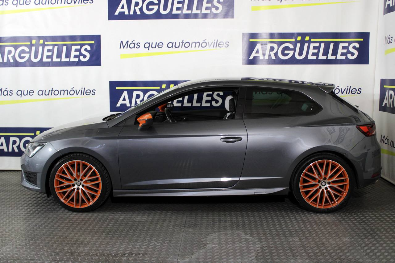 Seat León CUPRA SC 2.0 TSI 290cv Performance Orange Pack