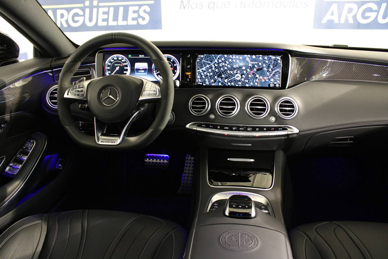 Mercedes Benz S 63 AMG Coupe 4Matic 585cv IVA DEDUCIBLE