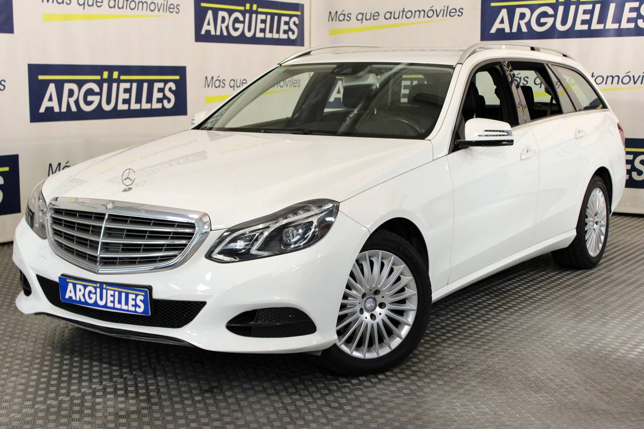 Mercedes Benz E 350d Estate 4Matic 252cv