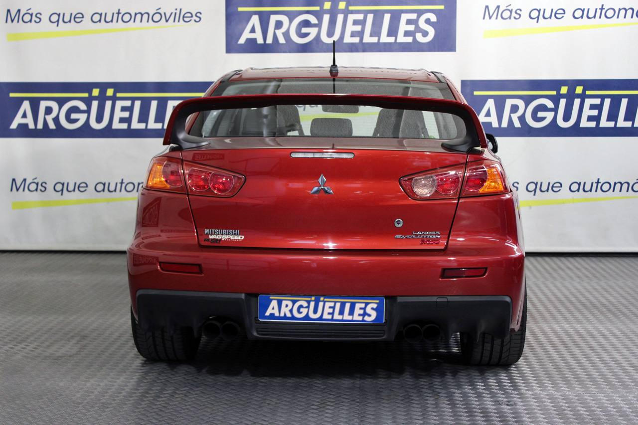 Mitsubishi Lancer Evolution X MR 415cv TC-SST ÚNICO