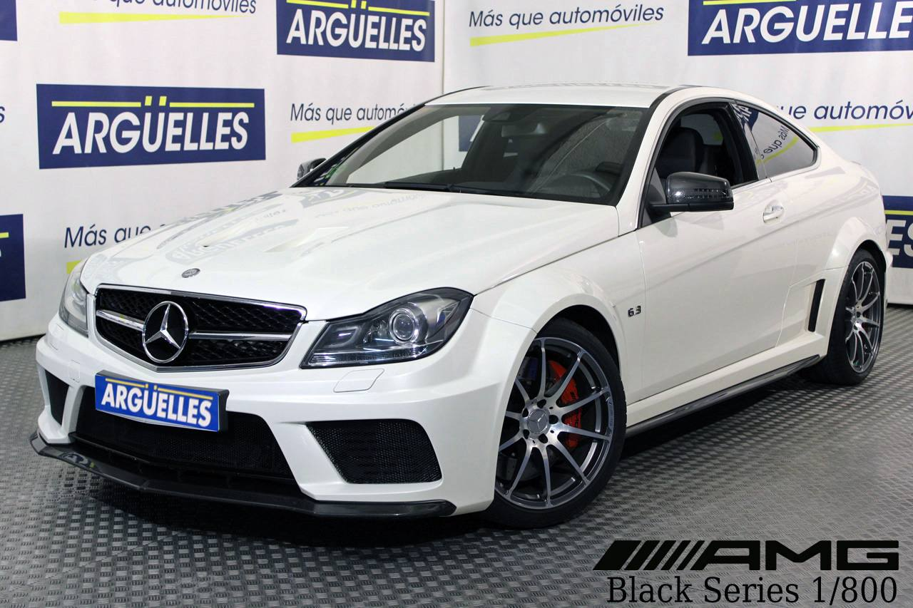 Mercedes Benz C 63 AMG BLACK SERIES Coupe 517cv