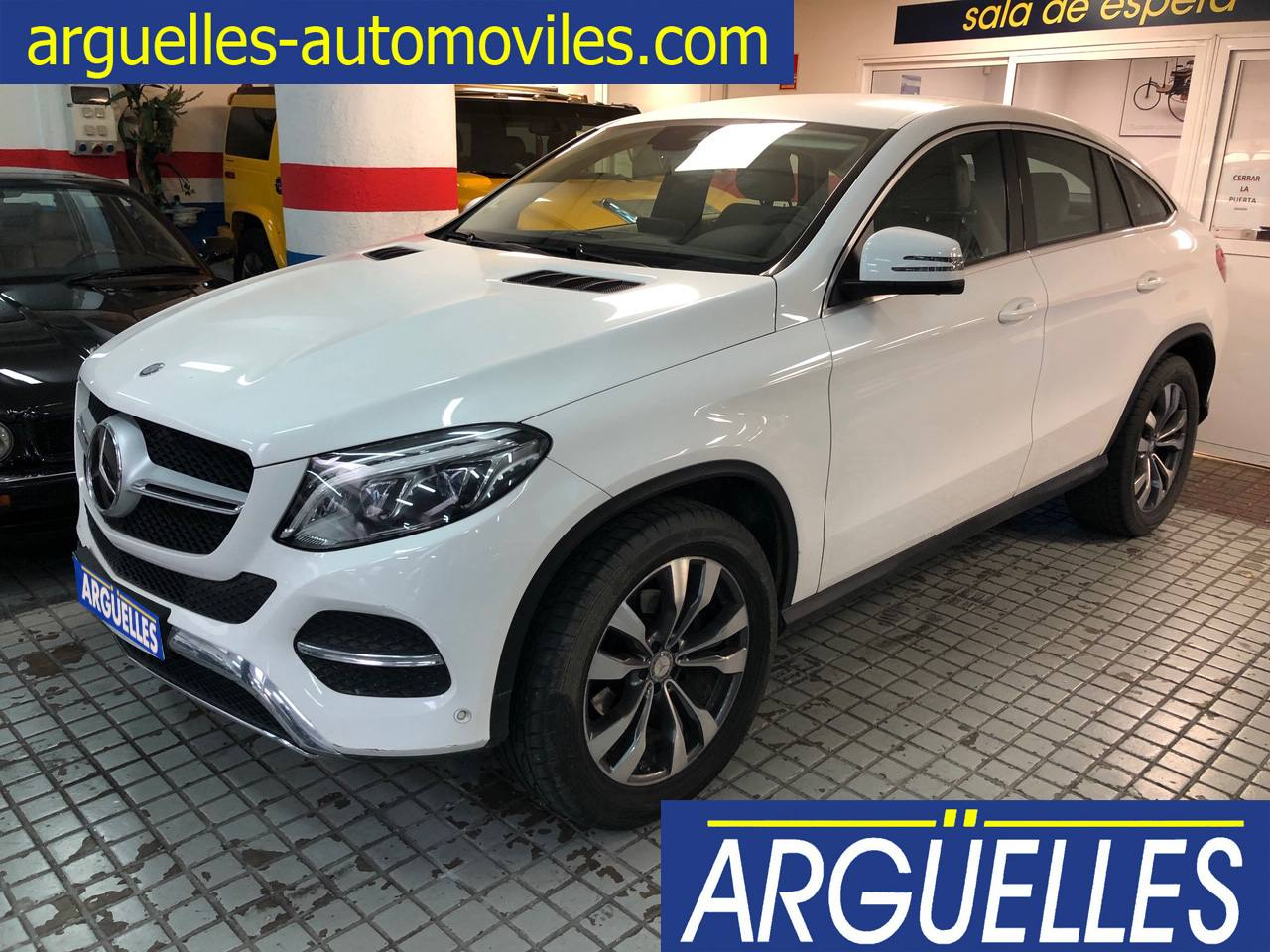 Mercedes Benz GLE 350d Coupe 4Matic