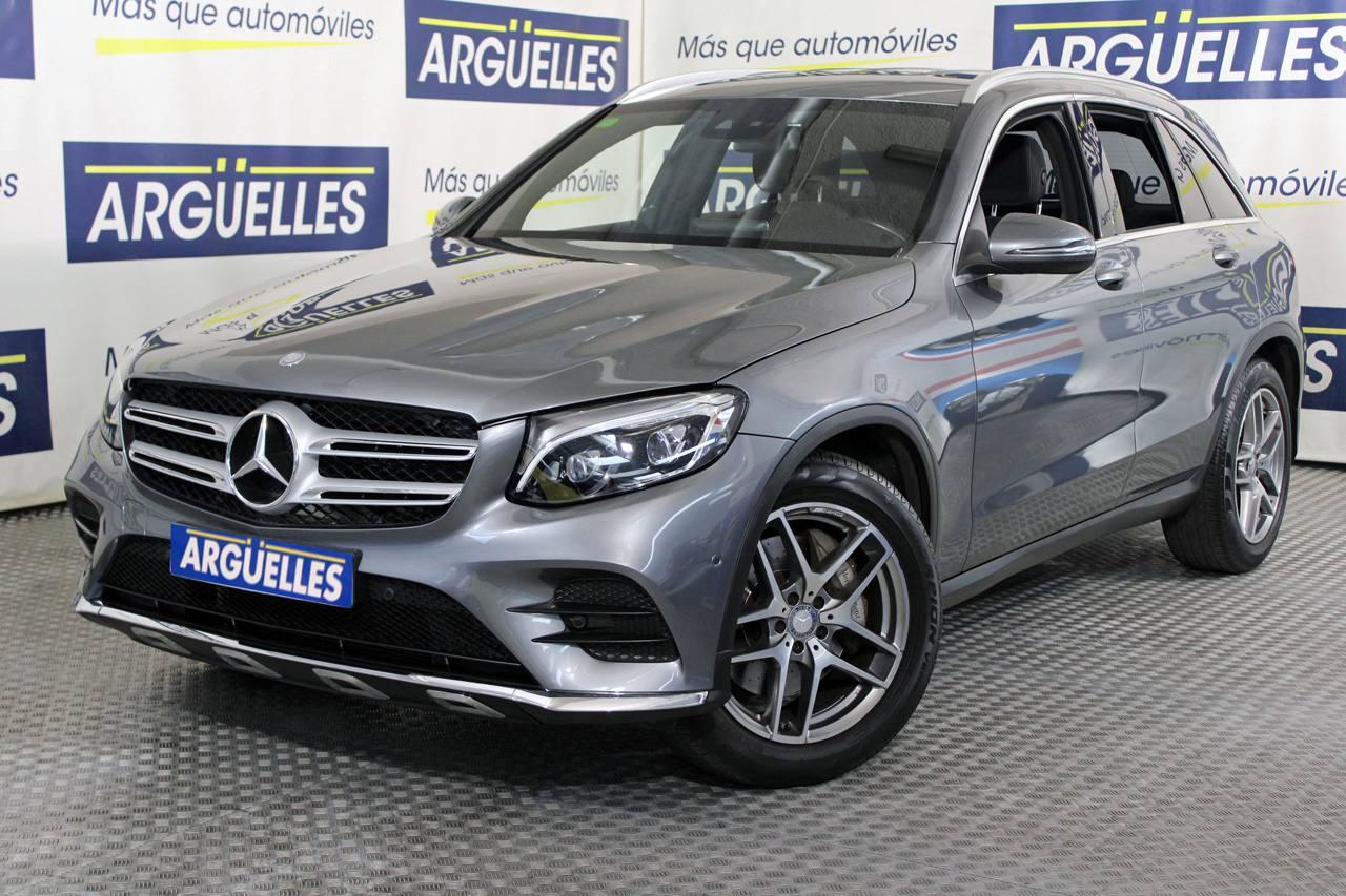 Dramaturgo formal mirar televisión  Mercedes Benz GLC 250d 4Matic AMG Line AUT 205cv ocasión MADRID
