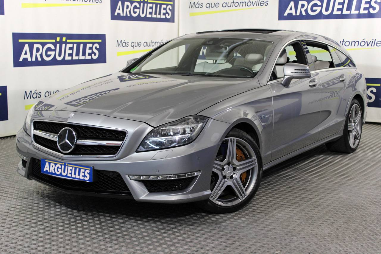 Mercedes Benz CLS 63 AMG Shooting Brake 557cv Edition 1 Performance