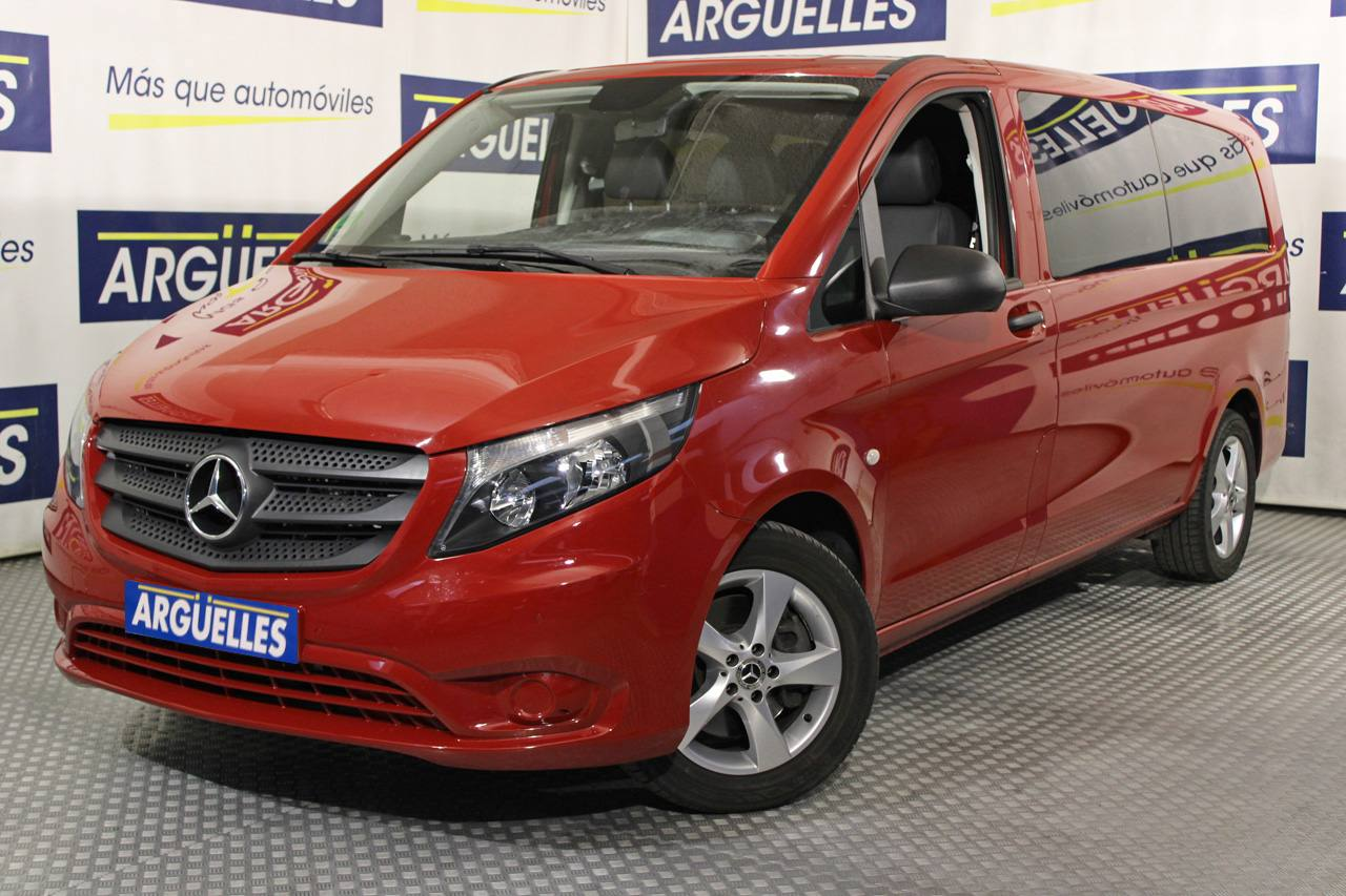 Mercedes Benz Vito 119d Tourer Select Extralarga 9 Plazas 190cv AUT