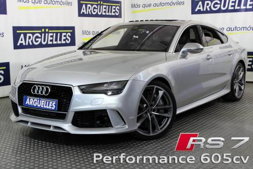 Audi Rs7 Sportback Performance 605cv 4 0 Tfsi Quattro Tiptronic Coches De Segunda Mano En Madrid