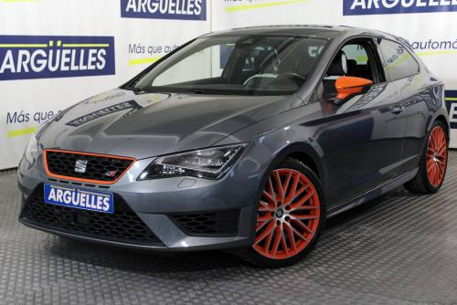 Seat León CUPRA SC 2.0 TSI 290cv Performance Orange Pack coche de ocasión