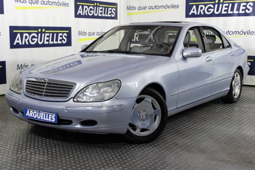 Mercedes Benz S 600 Largo V12 367cv NACIONAL IMPECABLE