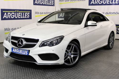 Mercedes Benz E 350 AMG Coupe 306cv FULL EQUIPE coches  segunda mano Madrid
