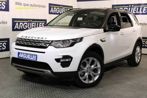 Land Rover Discovery Sport 2.0L TD4 4x4 HSE 180cv AUT 7PLAZAS coches lujo Madrid