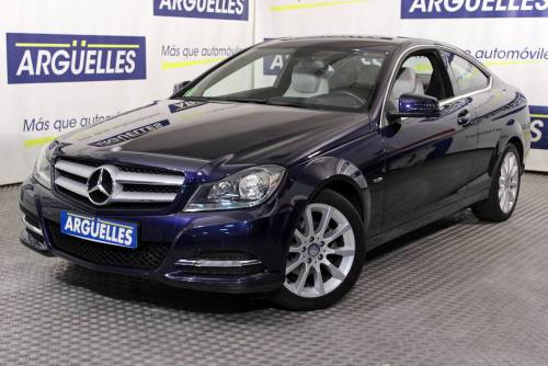 Mercedes Benz C 180 Coupe BlueEfficiency AUT 157cv  coche de ocasión