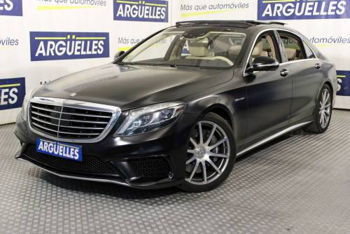 Mercedes Benz S63 L AMG 4Matic 585cv