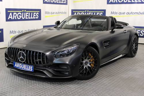 Mercedes Benz AMG GT C Roadster Edition 50 4.0 V8 Biturbo coches de lujo en Madrid